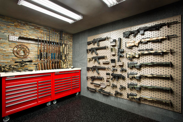 custom gun vault projects - Custom Rooms
