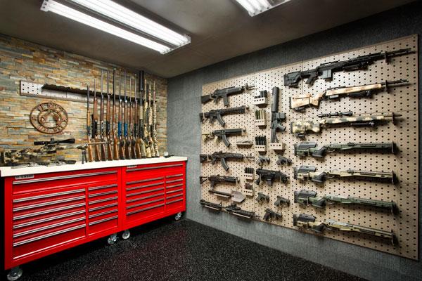 Custom Gun Room Design Weapon Vault Rooms Armory