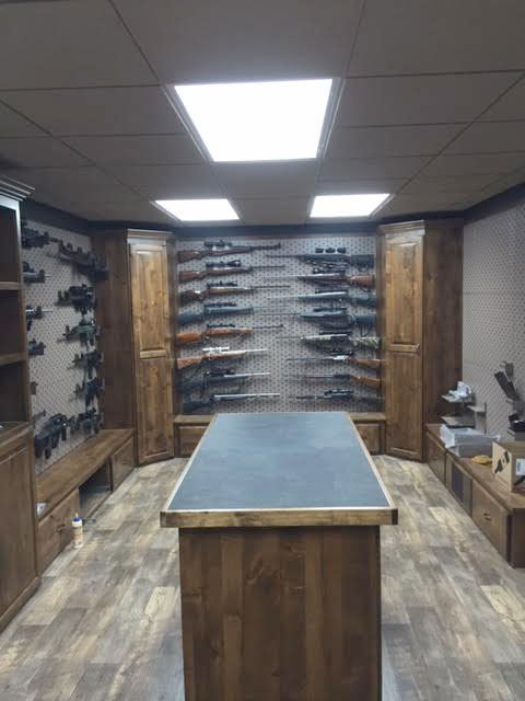 Custom Gun Room Design Weapon Vault Rooms Armory