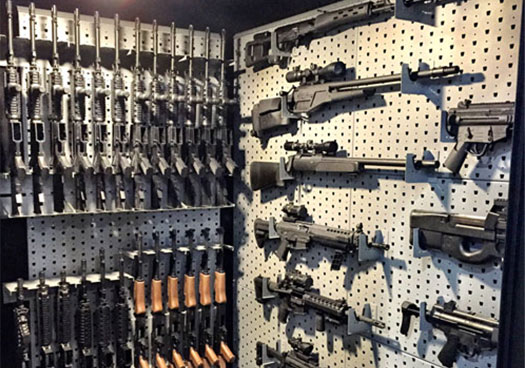 custom gun room design weapon vault rooms armory builds gallow