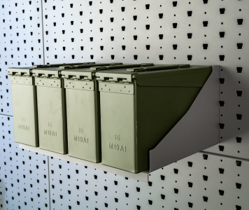 "16"" Wide Ammunition Shelf"