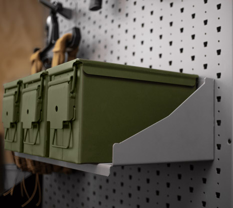 "22"" Wide Ammunition Shelf"