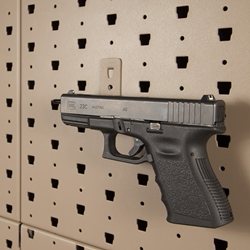 Handgun barrel hanger