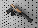 Heavy-duty Hybrid Handgun Hanger - HGH-HY-HD-1T