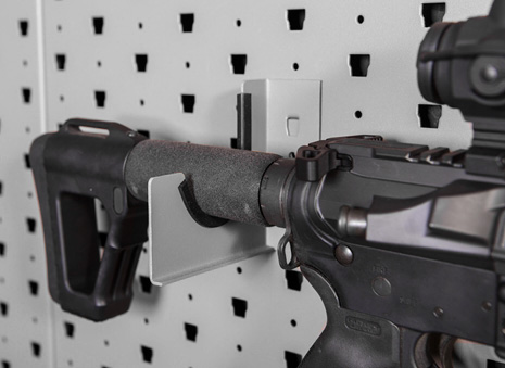 Horizontal Hanger – 1 Rifle Stock