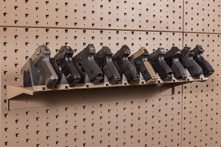 Hybrid Handgun Shelf