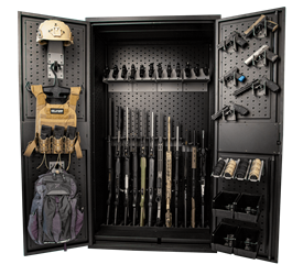 Ultimate Weapon Cabinet Package 1 Cabinet, Weapon Cabinet, Ultimate Weapon Cabinet, Rifle Cabinet, Weapon Storage, Gun Storage
