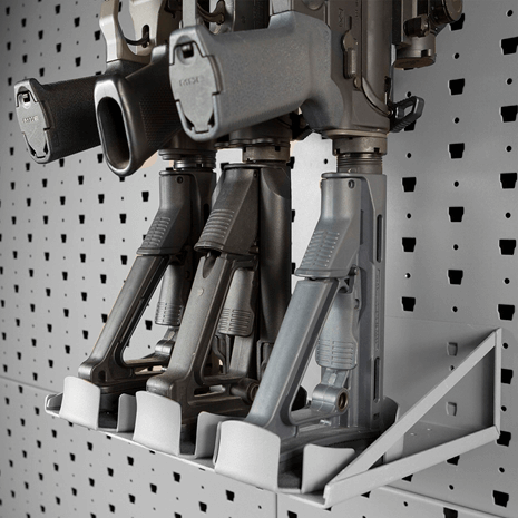 Vertical Stock Support Shelf - 3 Rifles